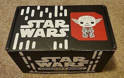 Funko Star Wars Smuggler's Bounty Box Sept 2017 Jedi w/ Kenobi & Secura Pops