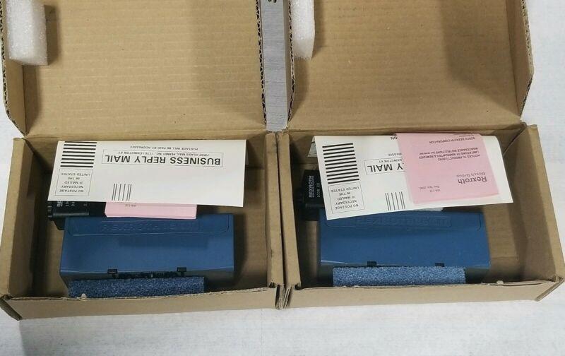 (2) NEW REXROTH CERAM VALVES GT-010061-03951 SOLENOID VALVES