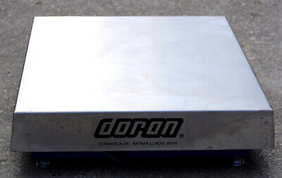New Doran Scales Dms3250 Scale Base 250lb 18x18 Commercial Trade Scale Ntep