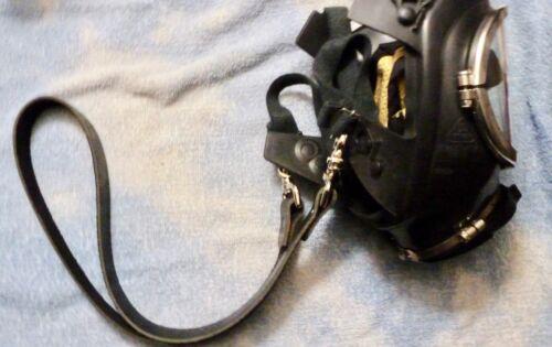 Firefighter Leather SCBA Mask Neck Strap