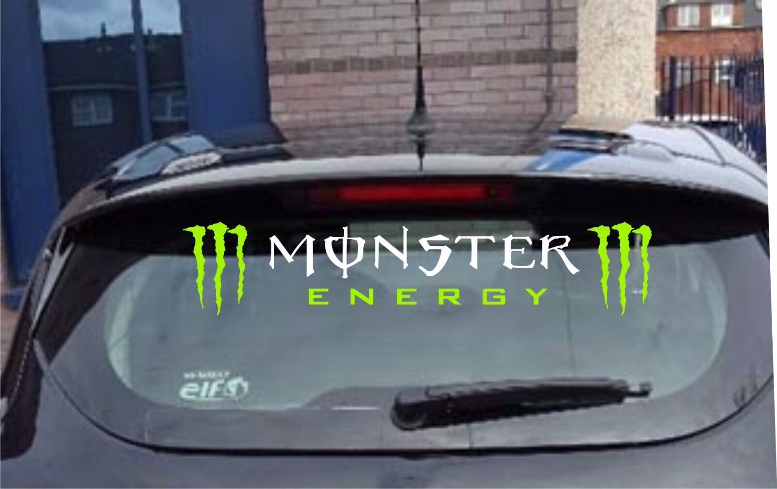Various energy vinyl car stickers rear window sunstrip logo graphic decal racing