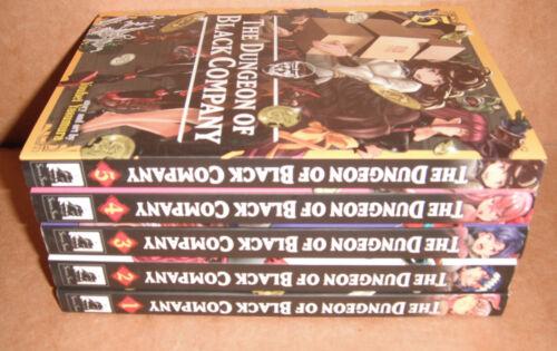 The Dungeon of Black Company Vol. 1,2,3,4,5 Manga Graphic Novels Set English