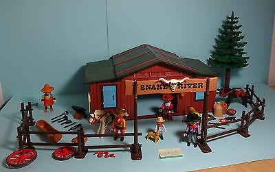 Playmobil Western ~ Snake River Ranch (3805)