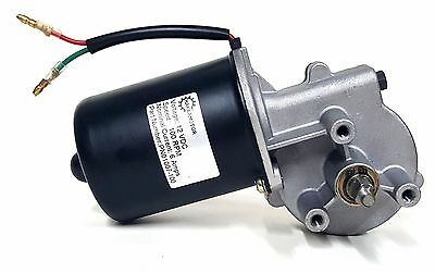 Makermotor 10mm 2-flat Shaft 100 Rpm Gear Motor 12v Dc Low Speed Reversible