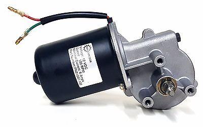Makermotor 10mm 2-flat Shaft 100 Rpm Gear Motor 12v Dc Low Speed Reversible