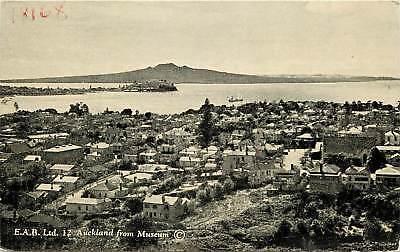 Australia, Auckland, E.A.B. Ltd 12 Auckland from Museum Postcard
