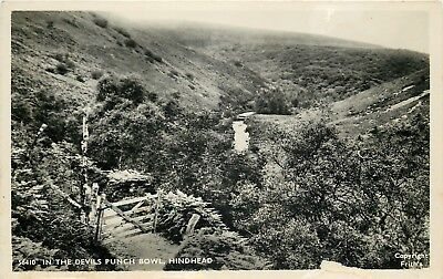 s09559 Devil's Punch Bowl, Hindhead, Surrey, England RP postcard unposted