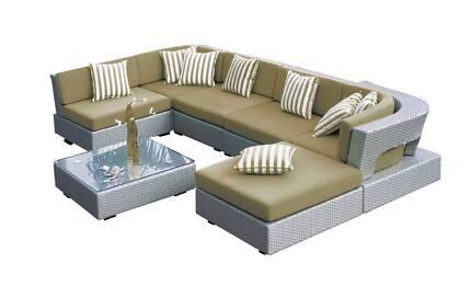 IN STOCK Outdoor Wicker Furniture Garden Modular Lounge