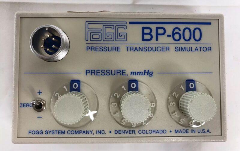 BP-600 Transducer Simulator FOGG System