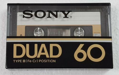 SONY DUAD 60 nice cassette tape № 775