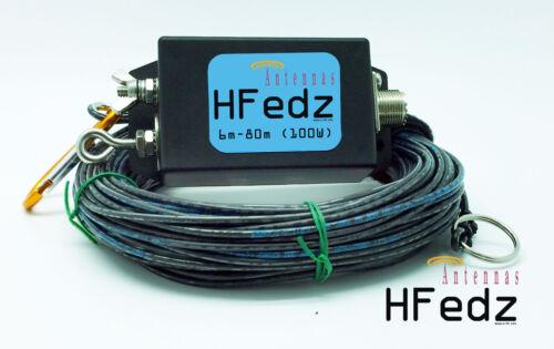 HFedz End Fed 6m-80m HF antenna Ham Radio Antenna