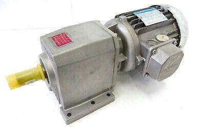 1 3 Ps Elektromotor (Bonfiglioli C10 2P S1 Elektrogetriebemotor Getriebemotor 3~ 137U/min 0,18kW B3)