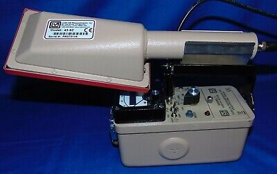 Ludlum 3 W 43-92 Alpha Scintillation Probe Scaler Optiion Geiger Radiation