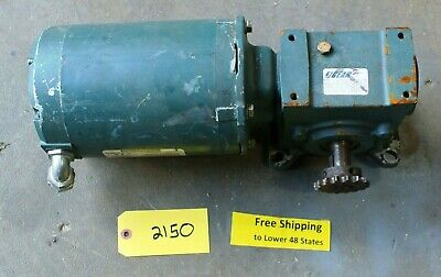 Reliance Electric Motor P56x1542r 13hp 1140rpm 230-460v W Tiger 2 Gear Reducer