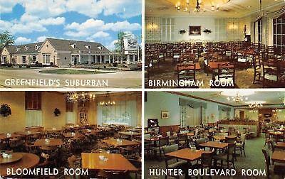 Birmingham Mi Greenfields Suburban Bloomfield Room Hunter Blvd Room 1959 Pc