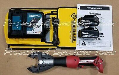 Greenlee Gator Ek425l Battery Hydraulic Crimper Cjd3bg Jaw 6 Ton Crimping Tool