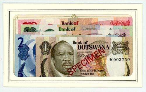 Botswana ... P-CS1 ... 1-20 Pula ... ND(1979) ... Choice *UNC *
