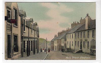 MAIN STREET, GLENLUCE: Wigtownshire postcard (C27263)
