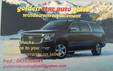 Golden Star Auto Glass - for all your windscreen replacement