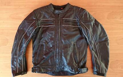 Torque Leather Motorcycle Jacket