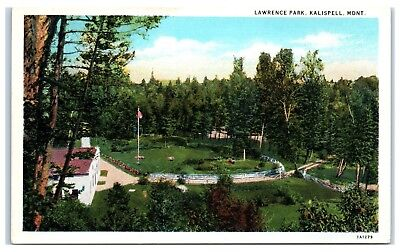 Early 1900s Lawrence Park, Kalispell, MT Postcard for sale  Leesburg