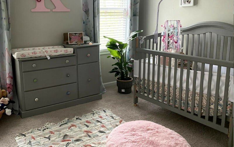 Crib, Changing Table and Mattress