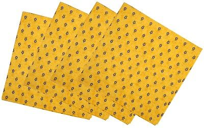French Provence 100% Cotton Set of 4 Napkins - Sunflower Morose