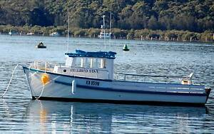 Carvel Timber (Leisure/Fishing) Trawler Pretty Beach Gosford Area Preview