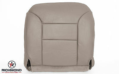 1997 1998 Chevy Silverado 2500 3500 -Driver Side Bottom Leather Seat Cover Tan-