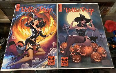 Special A Halloween (BETTIE PAGE HALLOWEEN SPECIAL ONE SHOT 2019 / COVER A ROYLE & B BROWN SET)