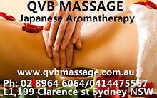 Japanese Aromatherapy(QVB Massage) Sydney City Inner Sydney Preview