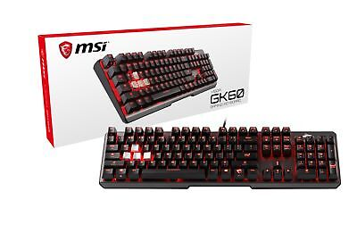 MSI Cherry MX Red Dedicated Hotkeys USB Pass-Through Mechani