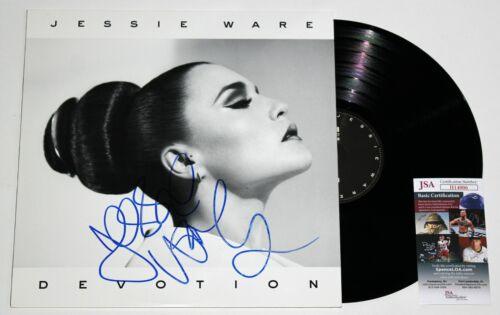 JESSIE WARE SIGNED DEVOTION LP VINYL RECORD ALBUM AUTOGRAPHED RARE +JSA COA