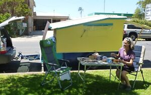 tiny camper trailer homemade - price reduced further