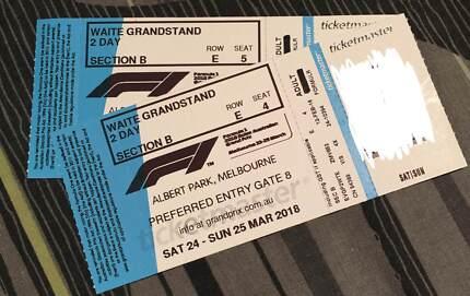 Melbourne Grand Prix 2018 Tickets
