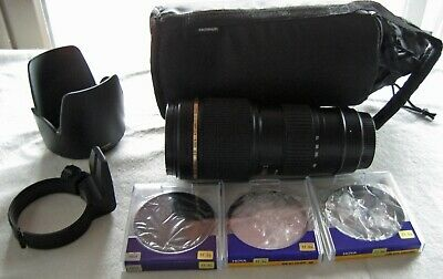 Tamron SP A001E 70-200mm f/2.8 LD AF IF Di Lens For Canon EF With Accessories