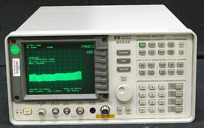 Hewlett Packard 8563e Spectrum Analyzer 30hz - 26.5ghz W85620a Mem Module