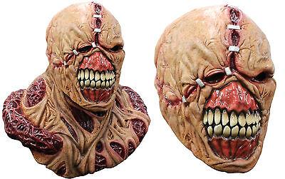 Capcom Resident Evil Nemesis Latex Mask - Economic or Deluxe STARS Cosplay - Nemesis Mask Resident Evil