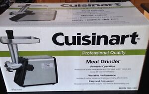 Cuisinart CMG-100C stainless steel electric meat grinder