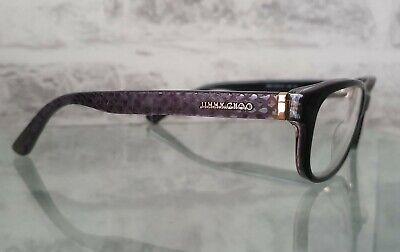 JIMMY CHOO 121 VSB Eyewear Glasses Frames Made in Italy