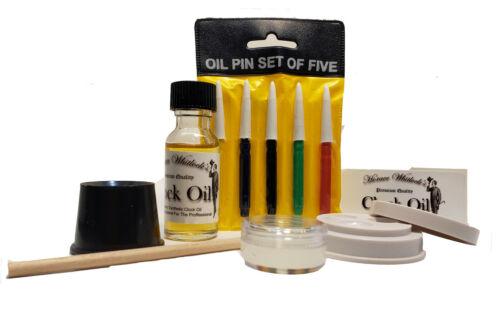 Clock Oil Kit - Synthetic Premium Quality Best Oil For All Clocks, CLock Oil