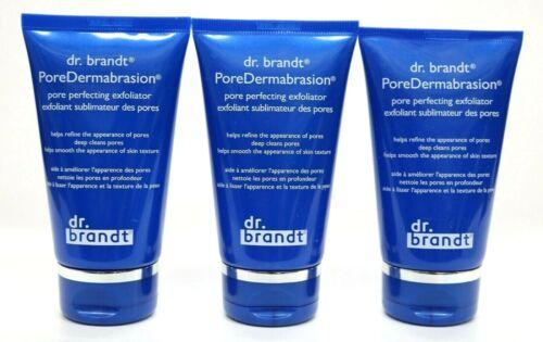 3 Dr Brandt PoreDermabrasion Perfecting Exfoliator Microdermabrasion 2oz *Sealed