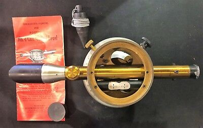 Vintage Bostrom No-4 Contractors Levelsurveying Set - Case Model Serial No-72
