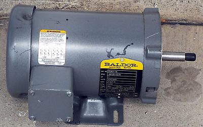 1 New Baldor Cjm3115 1hp 3ph Motor Make Offer