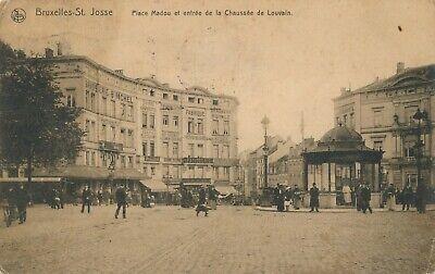 CPA - Belgique - Brussels - Bruxelles - St-Josse-ten-Noode - Place Madou