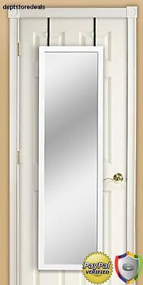Over Door Hang Room Full Size Wall Mount Hanging Mirror Vanity Quality -