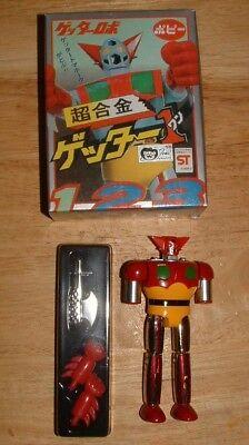 "POPY Getter Robo (Hong Kong Reissue) 4 1/2"" GETTER 1 GA-02 Diecast Chogokin"