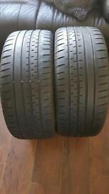 225 40 18 continental tyres x2