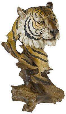 Büste Tiger Tigerbüste Figur Sammlerfigur Tierfigur Dekoration Deko WILD006
