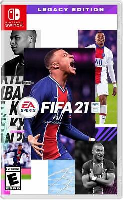 FIFA 21 Legacy Edition Nintendo Switch Brand New Sealed